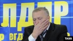 Ресей мемлекеттік думасының депутаты, ЛДПР партиясының жетекшісі Владимир Жириновский.
