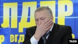 Лидер партии ЛДПР, депутат парламента России Владимир Жириновский. 13 декабря 2012 года.