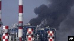 В результате взрыва на военном складе была повреждена главная электростанция Кипра