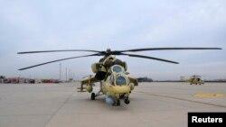 Вертолет Ми-35М.