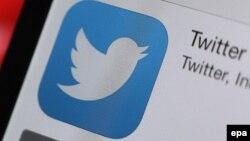 Twitter sosial ulgamynyň logotipi