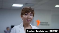 Таалайгүл Токтакунова.