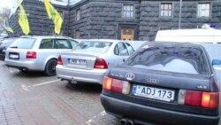 Розмитнення автомобілів. Активісти частково заблокували в'їзди до Києва (відео)