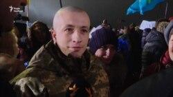 Обмін полоненими: зустріч у Борисполі (відео)