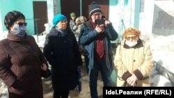 Казань, улица Юлиуса Фучика, 72. Жители дома.