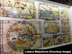 Картины тикуна на янчама, изготовленной из древесного волокна