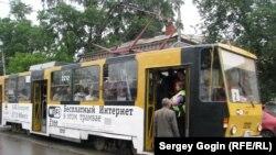 Трамвай в Ульяновске
