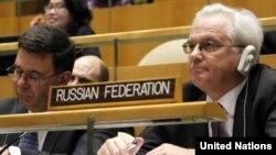 Ресейдің БҰҰ жанындағы өкілі Виталий Чуркин.