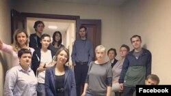 Группа поддержки Евдокии Романовой в суде