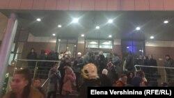 Эвакуация суда в Москве
