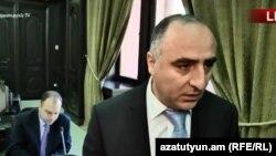 ՀՔԾ պետ Սասուն Խաչատրյանը զրուցում է լրագրողների հետ, Երևան, 28-ը հունիսի, 2018թ․