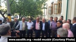 Salim Abduvaliev va Husan Ziyamuhammedov to'yda