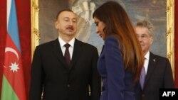 İlham Əliyev və Mehriban Əliyeva Avstriyada, 13 may 2013