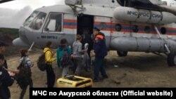 Эвакуация детей в Приамурье