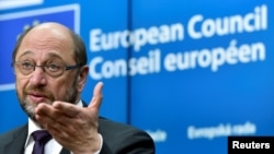 European Parliament President Martin Schulz is leaving Brussels for a return to German politics.