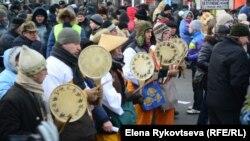 """Шествие """"За честные выборы"""" 4 февраля в Москве"""