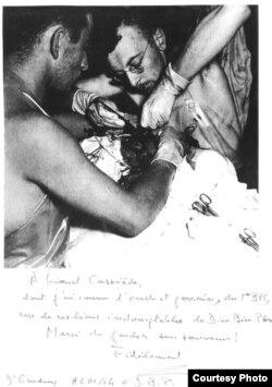 В бытность военным хирургом в Индокитае, 1954 год. Фото из личного архива Жака Жиндре