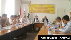 Tajik sport journalists Association's meeting, Dushanbe, 22.06.2013