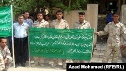 جنود كرد يطالبون نقلهم الى كردستان