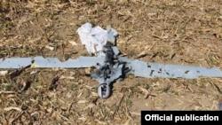 Արցախի ՊԲ զինծառայողների խոցած Orbiter-2 անօդաչու թռչող սարքը, 25-ը սեպտեմբերի, 2019թ․