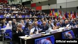 Еуропадағы қауіпсіздік және ынтымақтастық ұйымының парламенттік ассамблеясы жиыны. Минск, 6 шілде 2017 жыл.