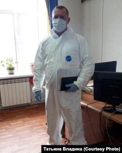 Федор Иващук на рабочем месте