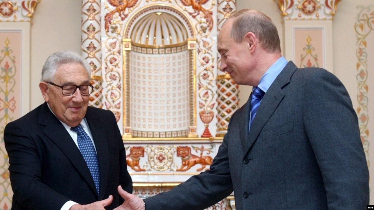 Генри киссинджер встреча с Путиным фото