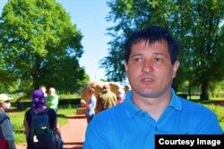 Евгений Мусин на Троицкой площади