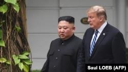 Ким Чен Ын и Дональд Трамп, 28 февраля 2019