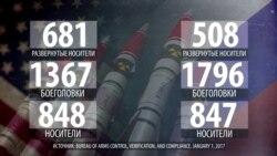 Сколько ядерного оружия у США и России?