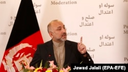 Hanif Atmar is one of the presidential contenders calling on President Ashraf Ghani to step down.