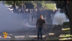 Столкновения полиции с демонстрантами в Стамбуле