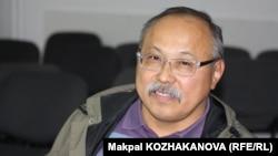 Руководитель одной из неправительственных организаций в Алматы Кайрат Иманалиев. 22 мая 2014 года.