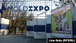 Chișinău: Centrul expozițional Moldexpo, unde este amenajat un centru de triere pentru bolnavii de Covid-19, în timpul epidemiei de coronavirus, 3 aprilie 2020