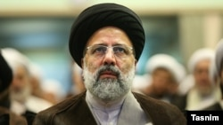 Hard-line cleric Ebrahim Raisi (file photo)