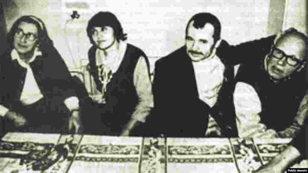 Елена Боннэр, Сафинар Джемилева, Мустафа Джемилев, Андрей Сахаров.