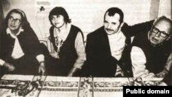 Елена Боннэр, Сафинар и Мустафа Джемилевы, Андрей Сахаров в Крыму