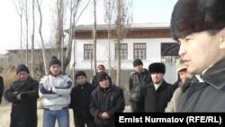 Имамдар калк менен жолугушуу маалында, Ош облусу