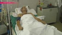 Раненые на счету перемирия в Донбассе