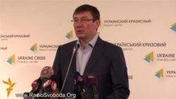 Луценко заявив, що повертається в політику