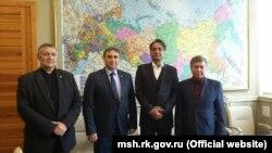 Російський міністр Криму зустрівся з представником бізнесу Індії, 24 листопада 2017 року