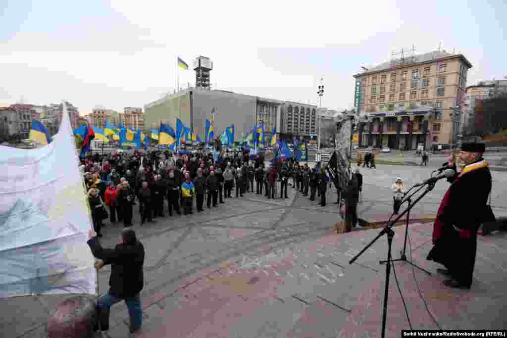 Мітинг-реквієм відбувся у Києві з нагоди 67-ї річниці від дня загибелі Романа Шухевича