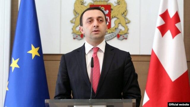 Georgian Prime Minister Irakli Garibashvili (file photo)