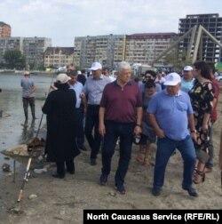 Не остался в стороне от мероприятия и спикер Народного собрания РД Хизри Шихсаидов