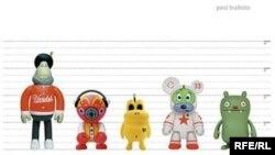 Пол Будниц. «Я из пластмассы. Нашествие дизайнерских игрушек»