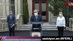 Брифинг премьер-министра Армении, 4 июня 2020 г.