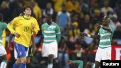 Футболиста сборной Бразилии Кака удалили с поля