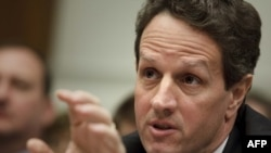 One economist says that the dollar may be falling because investors agree with U.S. Treasury Secretary Timothy Geithner's optimistism.