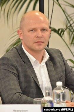 """Дзьмітры Невяровіч, генэральны дырэктар кампаніі """"Дарыда"""""""