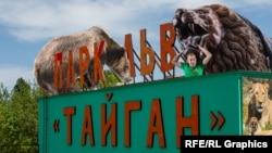 Сафарі-парк «Тайган», колаж